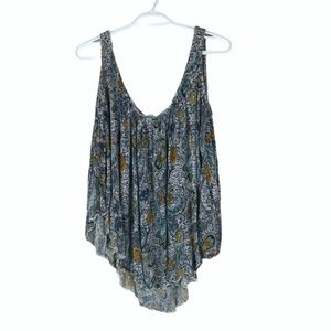 Free People Open Shoulder Tunic Top